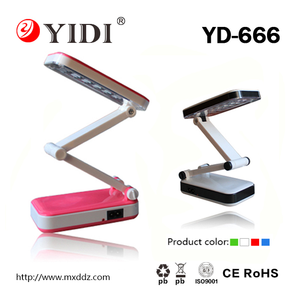 portable rechargeable led table lamp foldable led desk lamp office and home reading lamp