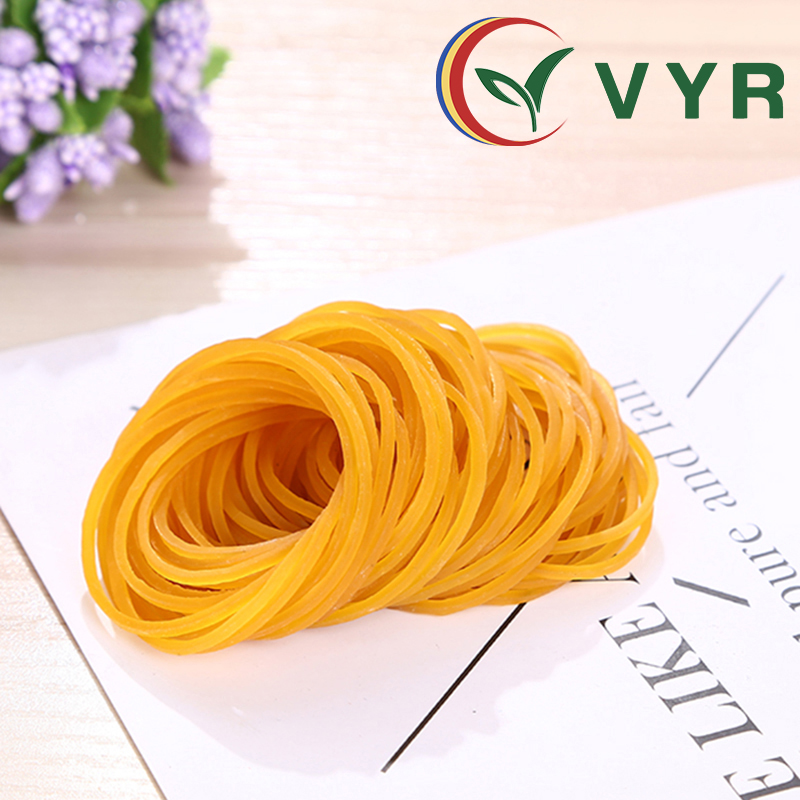 High Quality Environmental <strong>1</strong>.5 Inches in Diameter Elastic Rubber Bandand natural yellow rubber bands