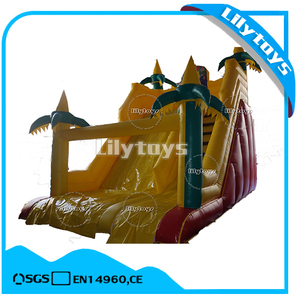 Kid slide toys commercial inflatable dry slide for sale
