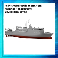 3D printing service museum display ship prototype 1:18 diecast model