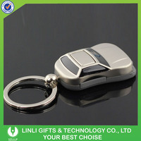Car Exhibition Fashion Metal led key chain