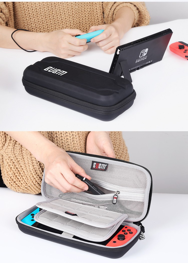 BUBM Stock Durable EVA Hard Travel Case for Nintendo