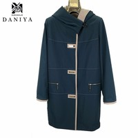 YMYD-7723 Spring Autumn Women Coat And Jacket Winter Warm Outerwear Long Ladies Coats Winter Wool Fabric Women's Jackets & Coats