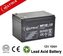 12V 10AH Rechargeable lead-Acid Battery