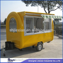 JIEXIAN JX-FR280H New model mobile BBQ food trailer for sale fast BBQ food trailer with wheels new BBQ food trailer vending