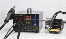 AOYUE 968A+ soldering station SMD/SMT Hot Air 3 in 1 solder station & Rework machine Soldering Stations Electric Soldering Irons