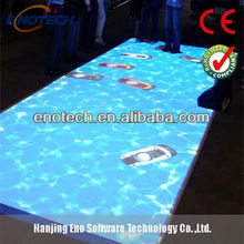 2013! interactive Floor/interactive wall for advertising, exhibition, wedding, kids games