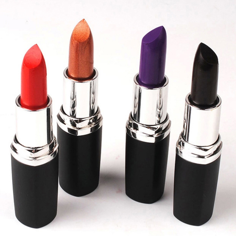 1Pc Top Quality Brand Makeup Matte Lipstick 4 Colors Optional Matte Vampire Batom Lip Stick Lipstick Makeup  Lip Cosmetics