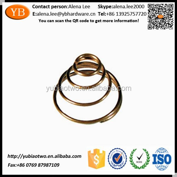 ISO/TS16949 PassedChina Environmental Carbon Steel Variable Force Spring Supplier