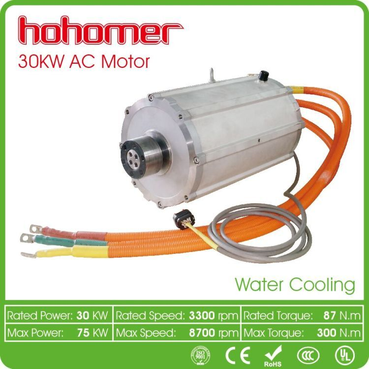 30 kW High Power Conversion Kit Electric Car Motor For EV 40hp