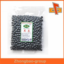 High quality resealable vacuum food packing bags for black soya bean or nuts packaging