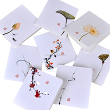 China Alibaba featuring hand-drawn Thank You blank note Card