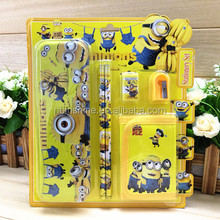 CU2432-4 Stationery supplies cheap school supplies kids stationery set