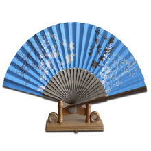 Custom logo advertising bamboo fan /Chinese style & Japan anime craft gift fan
