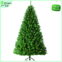 2016 fashion design giant green color blank 4ft wholesale christmas decorations