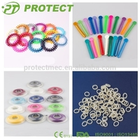Protect Orthodontic Dental elastic products with CE for teeth