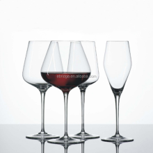 Long Stem clear Swirl Wine Glass
