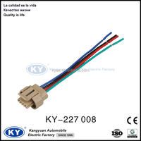 auto car electrical iso connector wiring harness for different audio brands