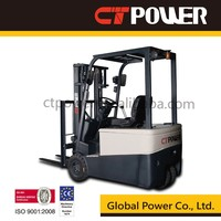 1.5ton 1.8ton three wheel FBT15 electric battery forklift truck CT Power China Tailift discount good price