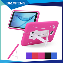 New electronic products on market heavy duty with stand case rugged tablet pc back cover for samsung tab e 8.0