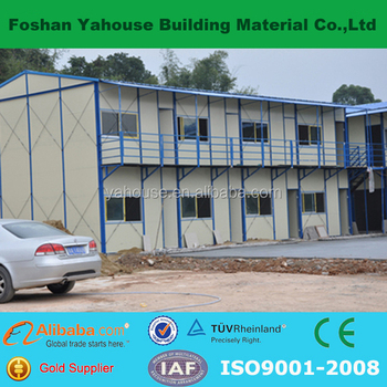 Hot Sale 2 Storey Prefabricated Home K House Cafe / Hotel / Toilet / Store