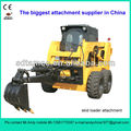 skid loader backhoe (skid loader attachment,bobcat attachment)
