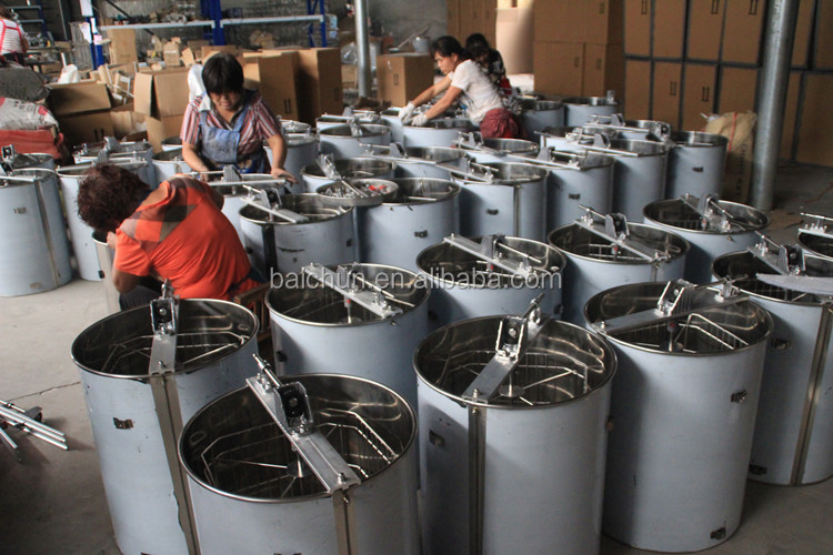 China automatic 60 frames honey extractor used in beekeeping