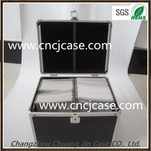 China delux black and black portable dental aluminum tool box handles and latches