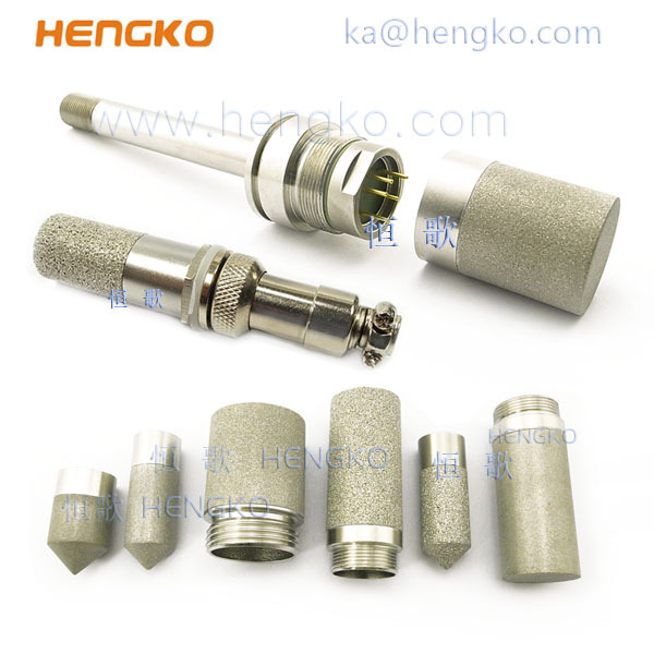 Sintered stainless steel Probe microns filter housing