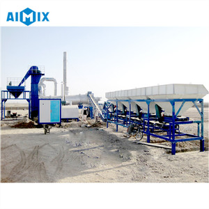 Asphalt equipment 20t/h mobile hot mix plant