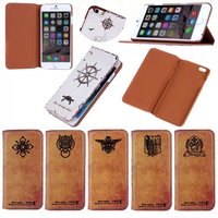BRG Manufacture Ultra thin retro leather for iphone 6, for iphone 6 leather case