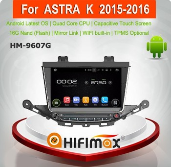 Hifimax Android 5.1.1 car dvd player with gps FOR OPEL Astra J/buick excelle car audio system for opel astra k