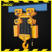 HHBB double speed 20T best selling heavy duty Electric Chain Hoist