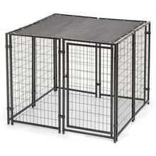 Heavy duty galvanized dog kennel house cages/dog house/dog kennels in Anping,china factory