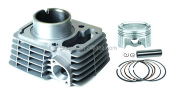 Hot sell motorcycle cylinder kit for CBF-125