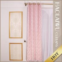 Wholesale cheap price popular colorful 100% polyester arabic window curtains