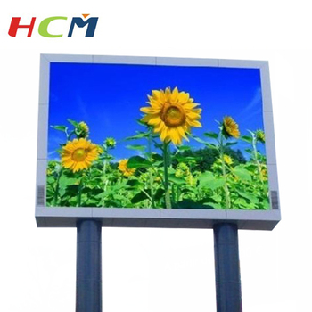 big screen outdoor led waterproof led screen 6mm smd outdoor led screen