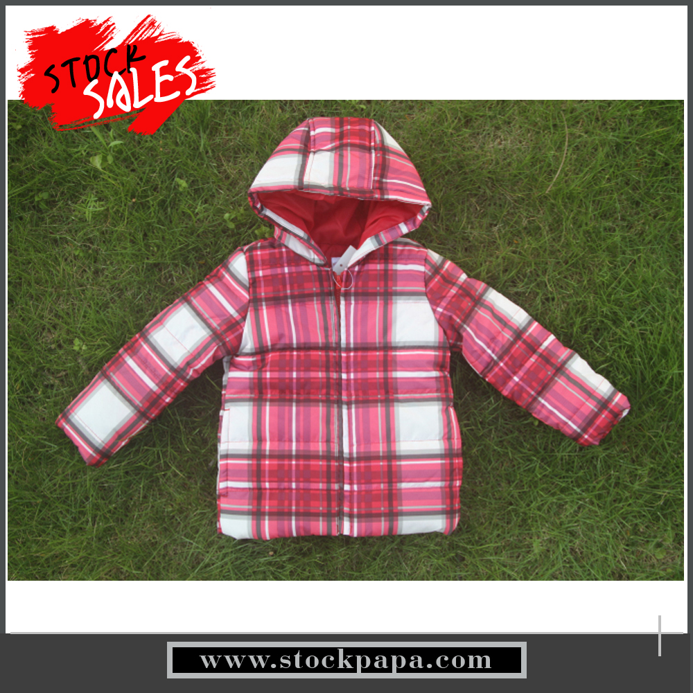 Boutique clothing sweet girl's new design padded coats