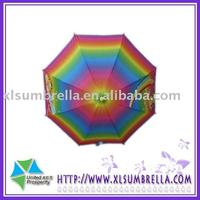 Popular fashion Auto open colorful gift stick kids umbrella