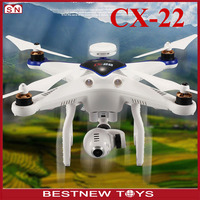 Auto follow me drone professional cheerson cx-22 cx22A quadcopter with hd camera and gps