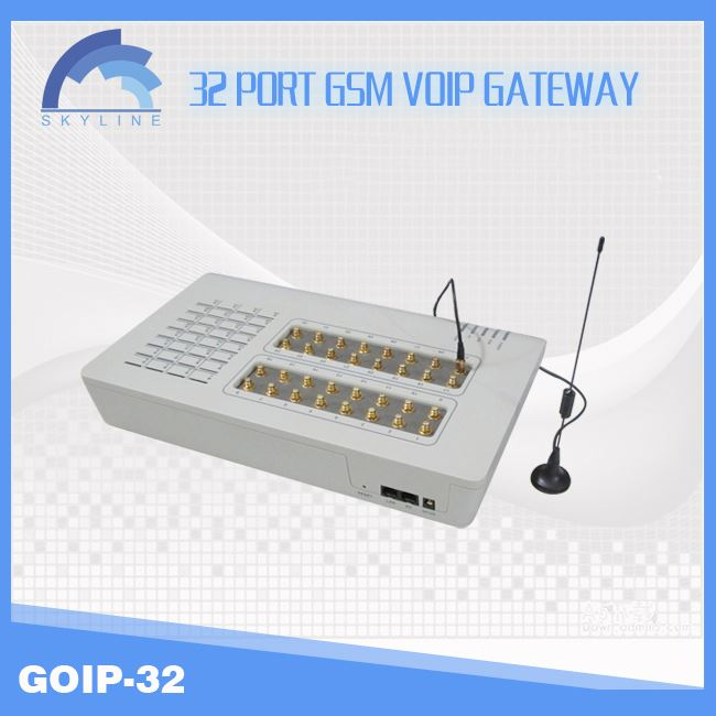 Best price for voip business goip Gsm gateway with 32ports, unlimited india calling voip