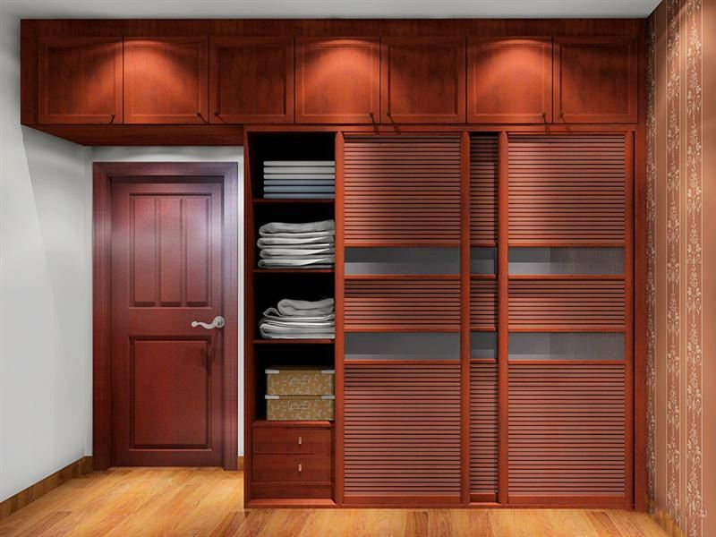 Fashion Clothes Storage Cabinets Baby Wardrobe With 9 Cartoon Door