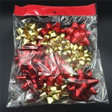 Christmas fancy bows and festival ribbons gift warp decoration