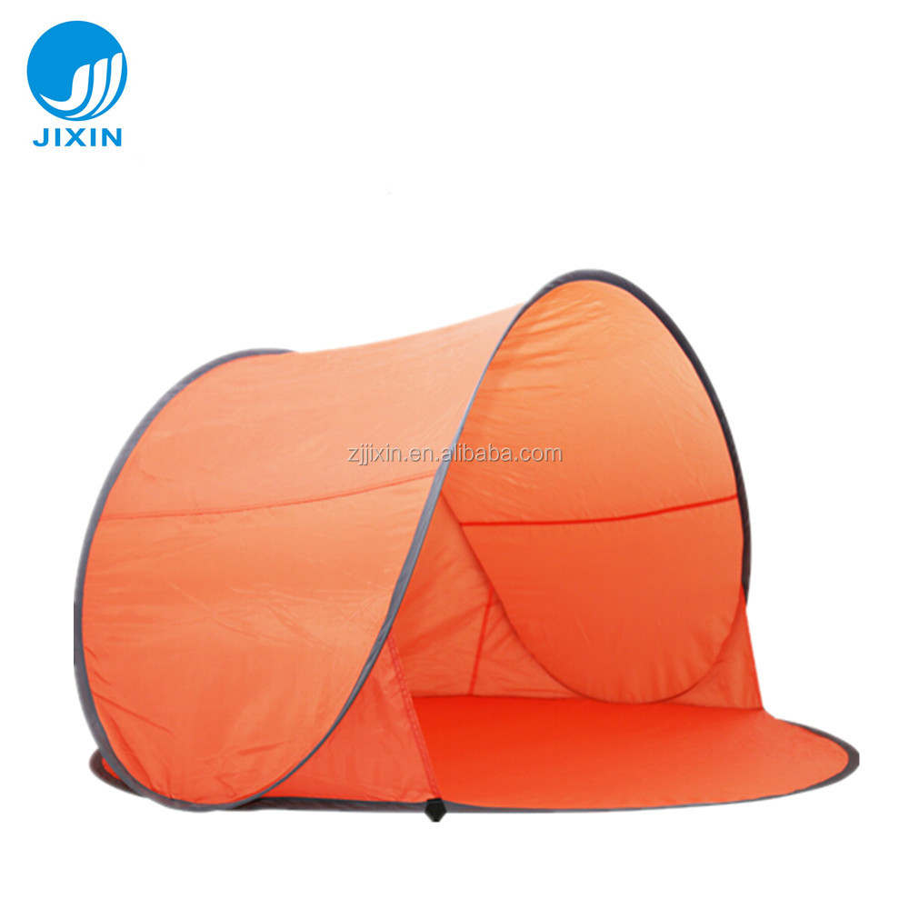 Automatic open family camping beach tent for 2-3 person