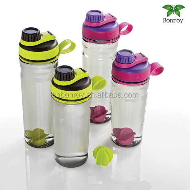 2017 hot selling BAP free joy 450ml shaker bottle