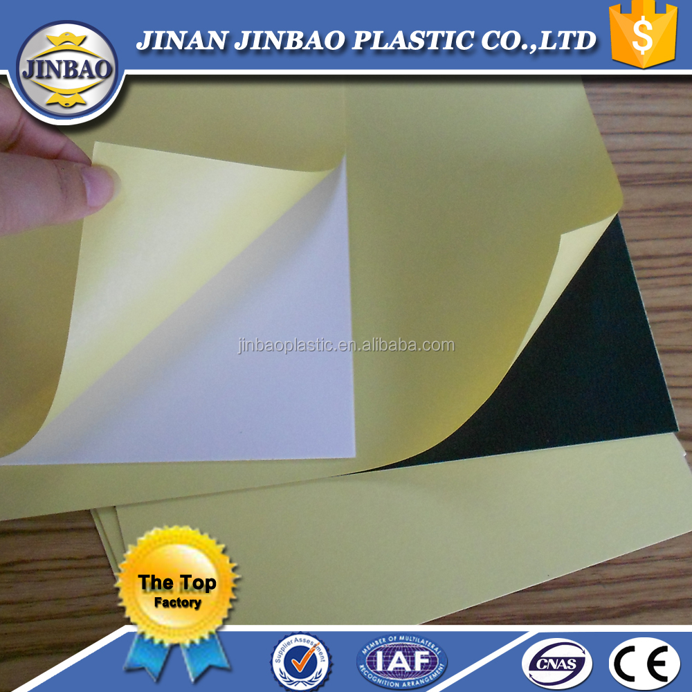 PVC foam Board sheet for photo album self adhesive photo book