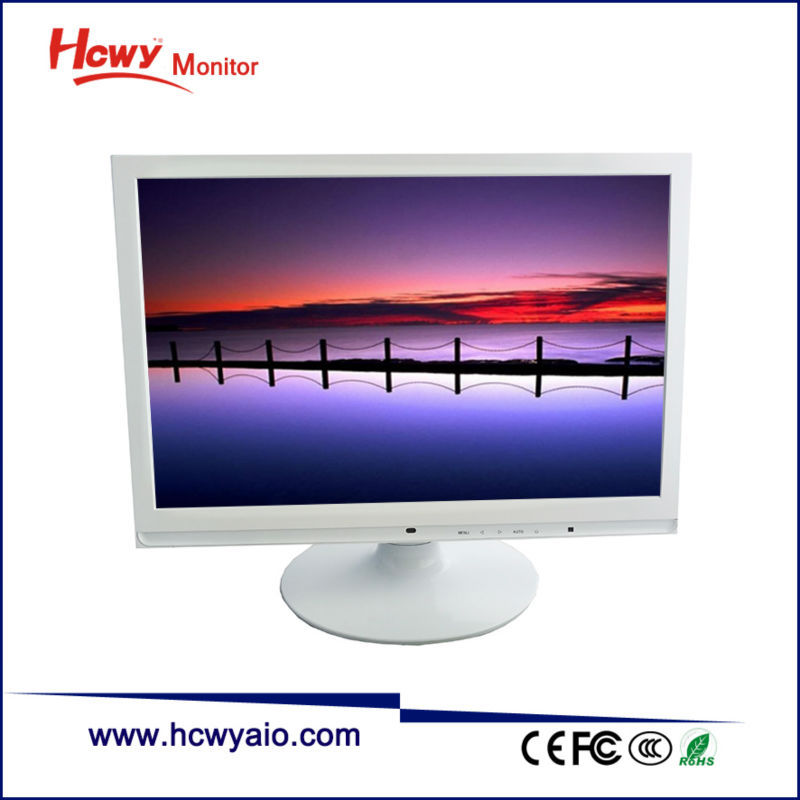 On Sale 19 inch White Color LCD Monitor 16:9 19 inch Medical LCD Monitor