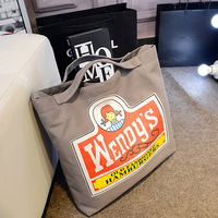 2015 custom logo printed canvas duffle bags wholesale with the best price