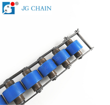 Standard carbon steel or stainless steel roller conveyor chain double plus chain