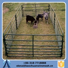 wholesale cheap high quality cow sheep farm fence / horse panels be used in animal and vinly fence